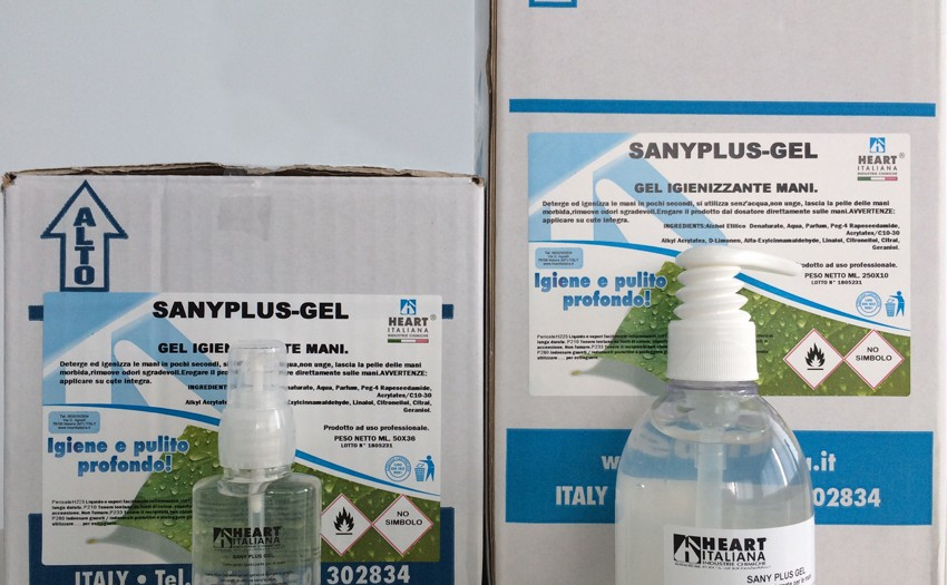 sany plus gel rid